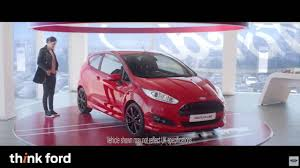 ford commercial actress ford st line fiesta advert youtube
