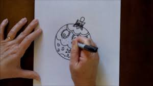 how to draw a ornament easy step by step drawing