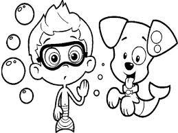 bubble guppies coloring pages coloringsuite com