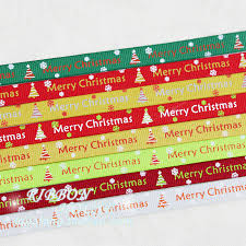 merry christmas ribbon online get cheap green ribbon in christmas aliexpress