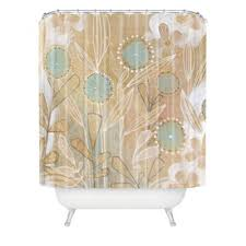 Flower Drop Shower Curtain Buy Flowers Polyester Shower Curtain From Bed Bath U0026 Beyond