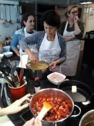 cours de cuisine norbert tentation chocolat confit de fruits rouges au vin et crème
