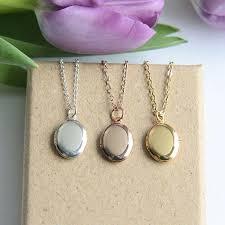 childrens locket children s locket necklace locket necklace tiny oval