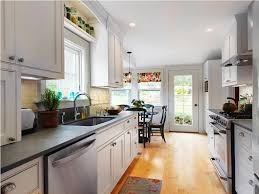narrow galley kitchen design ideas better galley kitchens designs ideas today for makeover ideas