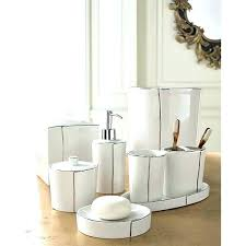 designer bathroom sets modern bath accessory sets inspiring designer bathroom sets and 0