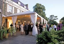 bronx wedding venues small backyard wedding tent ideas at wave hill in the bronx