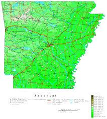 Map Of Massachusetts Cities by Arkansas Contour Map