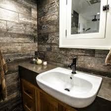Bathroom Wood Paneling Brown Rustic Bathroom Photos Hgtv