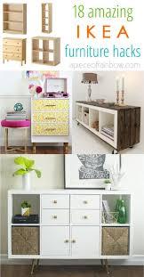 ikea kitchen cabinet storage bed easy custom furniture with 18 amazing ikea hacks a