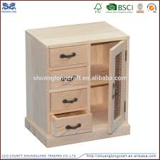 handmade unfinished solid wood cabinet small drawers buy