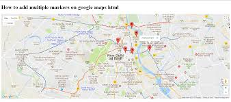 G Maps Multiple Markers To Google Maps Javascript
