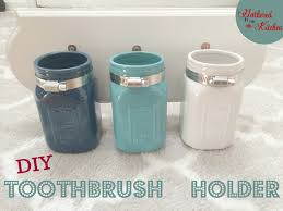 Mason Jar Bathroom Storage by Diy Mason Jar Toothbrush Holder