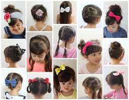 Simple Girls Hairstyles by 16 Toddler Hair Styles To Mix Up The Pony Tail And Simple Braids