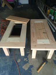 Diy Patio Coffee Table Great Patio Coffee Tables With Coolers Diy Pinterest