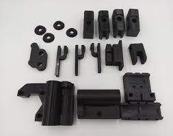 Top 3D Printer Parts RepRap Prusa Mendel i3 PLA plastic Parts Kit DIY  &OW19
