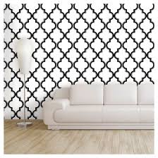 devine color cable stitch peel u0026 stick wallpaper black u0026 white