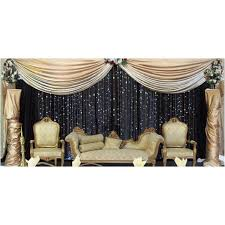 Black And Green Curtains Pictures On Stage Decoration Black And Green Wedding Ideas