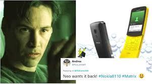 Nokia Phone Meme - nokia brings back the banana phone at mwc 2018 and twitterati s