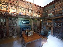 the study in abbotsford house located on the side of the r u2026 flickr