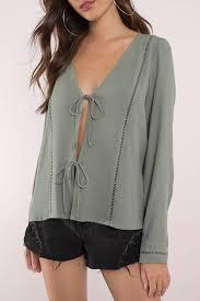 blouses for sheer blouses sleeveless blouses tobi us
