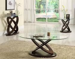 Small Living Room Tables Contemporary Glass Top Living Room Table Set Occasional