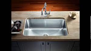 Ikea Kitchen Sinks by Single Bowl Undermount Kitchen Sinks Youtube