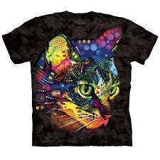 brighten your day with mysterious cat t shirt