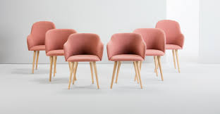 Pink Dining Room Chairs Pink Velvet Dining Room Chairs Indiepretty
