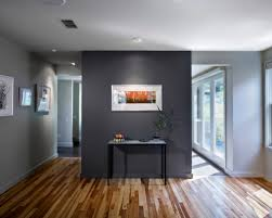 exciting grey walls with wood floors 49 in minimalist design room