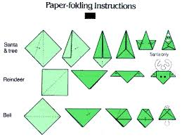 paper ornament folding illustration seasonal