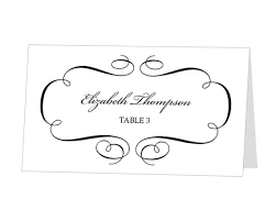 place card template printable place card template wedding place