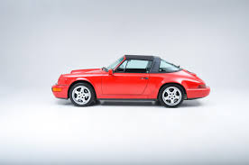 porsche 964 red 1990 porsche 964 carrera 4 targa stock 1990102 for sale near new
