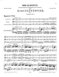 quotes about music on piano piano quartet no 3 in c major woo 36 beethoven ludwig van