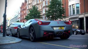 grey ferrari matte grey ferrari 458 italia with red highlights overview and
