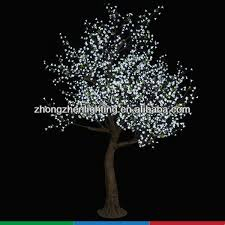 decorative lighted trees and flowers for landscape led projection