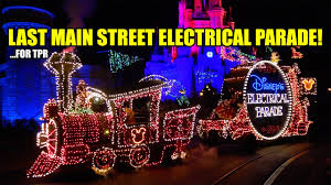 electric light parade disney world very last main street electrical parade for tpr walt disney world