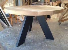 custom round dining tables elements round chairside table with angled legs stretchers by
