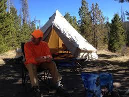modernized canvas tent spacious backwoods comfort
