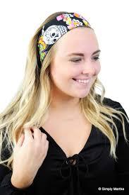 boho headband los novios day of the dead boho headband headwrap headwear
