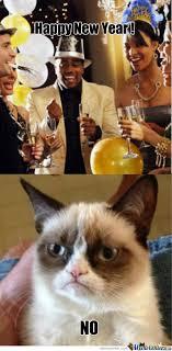 Happy New Year Cat Meme - happy new year grumpy cat by jeanphilippe mokkori meme center