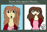 Draw This Again Meme Blank - draw this again know your meme