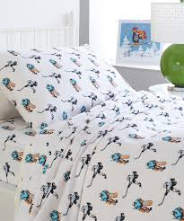 Twin Sheet Set Hockey Playful Collection Flannel Sheet Set Zulily