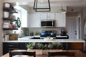our kitchen cabinets with nuvo cabinet paint