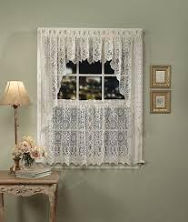 Material For Kitchen Curtains by Macrame Lace Kitchen Curtains Amazing Curtain Asulka Com