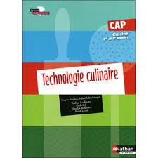 livre de cuisine cap technologie culinaire cap cuisine livre de l élève 2010 livre de l