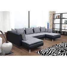canapé d angle noir et gris canapé d angle conv u nano gris noir angle gauche achat vente