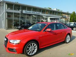 audi a4 2015 2015 brilliant red audi a4 2 0t premium plus quattro 96758809
