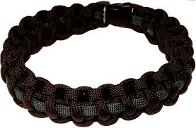 black survival bracelet images Accessories northern ireland paracord wristband thin blue jpg