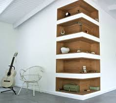 Wood Shelves Images by Best 25 Recessed Shelves Ideas On Pinterest Minimalist Library