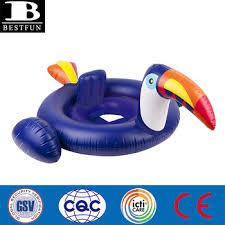 siege gonflable b haute qualité date pvc gonflable toucan de natation bateau siège